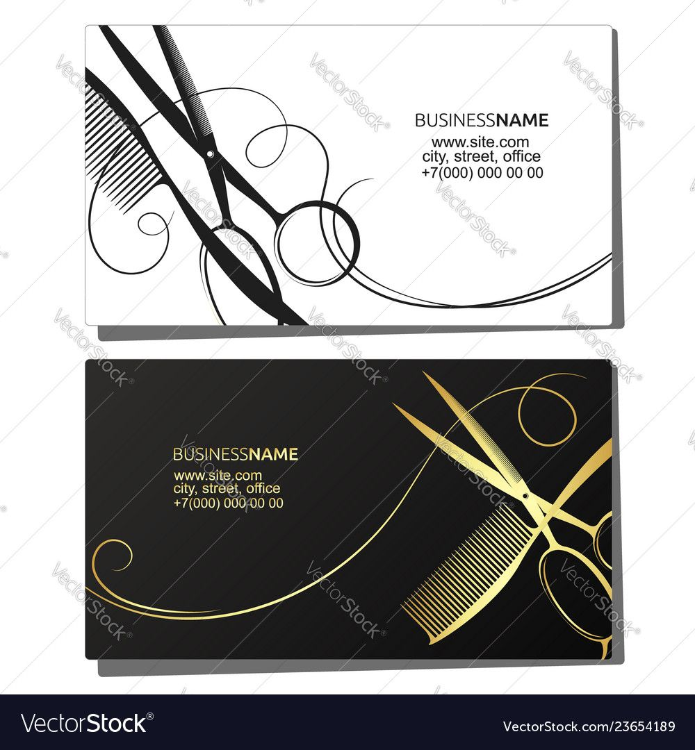 The Exciting Hairdressers Business Cards Designs Letters Free Beauty Intended For Beauty Salon Business Cards Free Business Card Templates Salon Business Cards