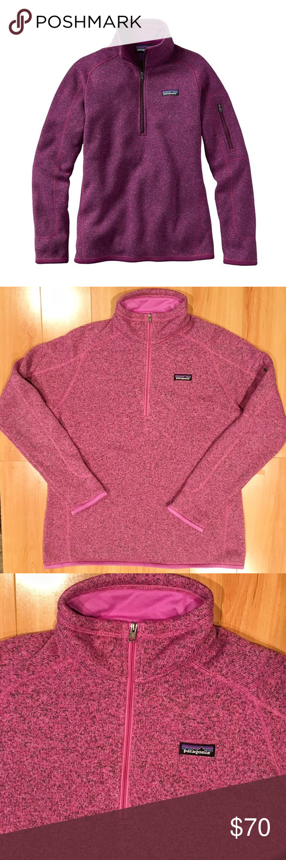 Patagonia Better Sweater Half Zip Fleece | Patagonia, Pullover and ...