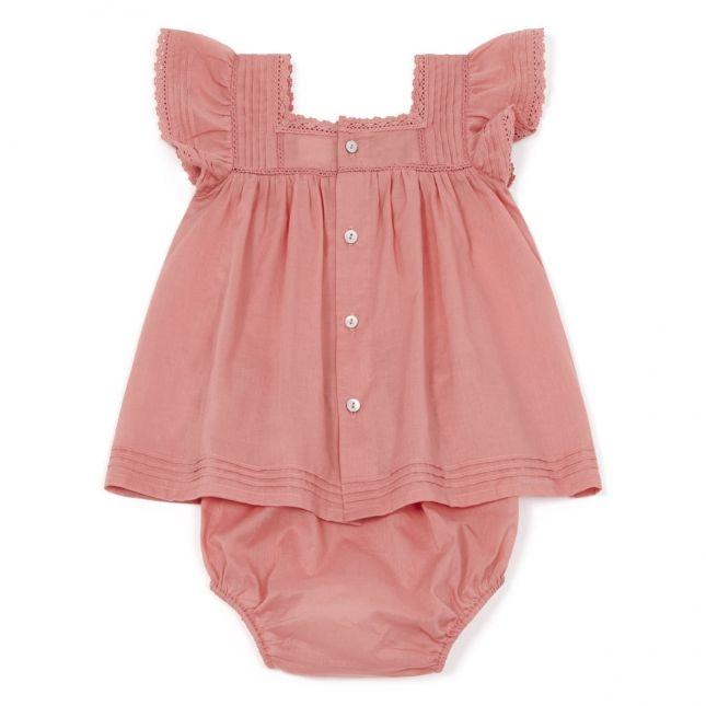 629532b08bf22 Robe romara bébé rose toucan - robes