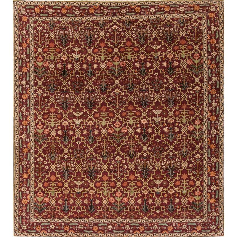 Agra Rug Hand Knotted