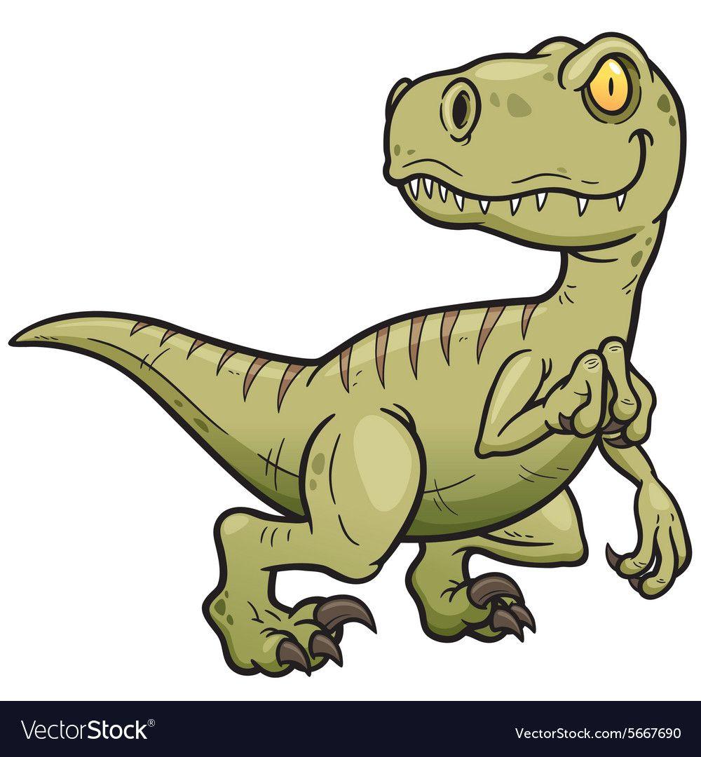 Dinosaur Royalty Free Vector Image - VectorStock #dinosaurillustration