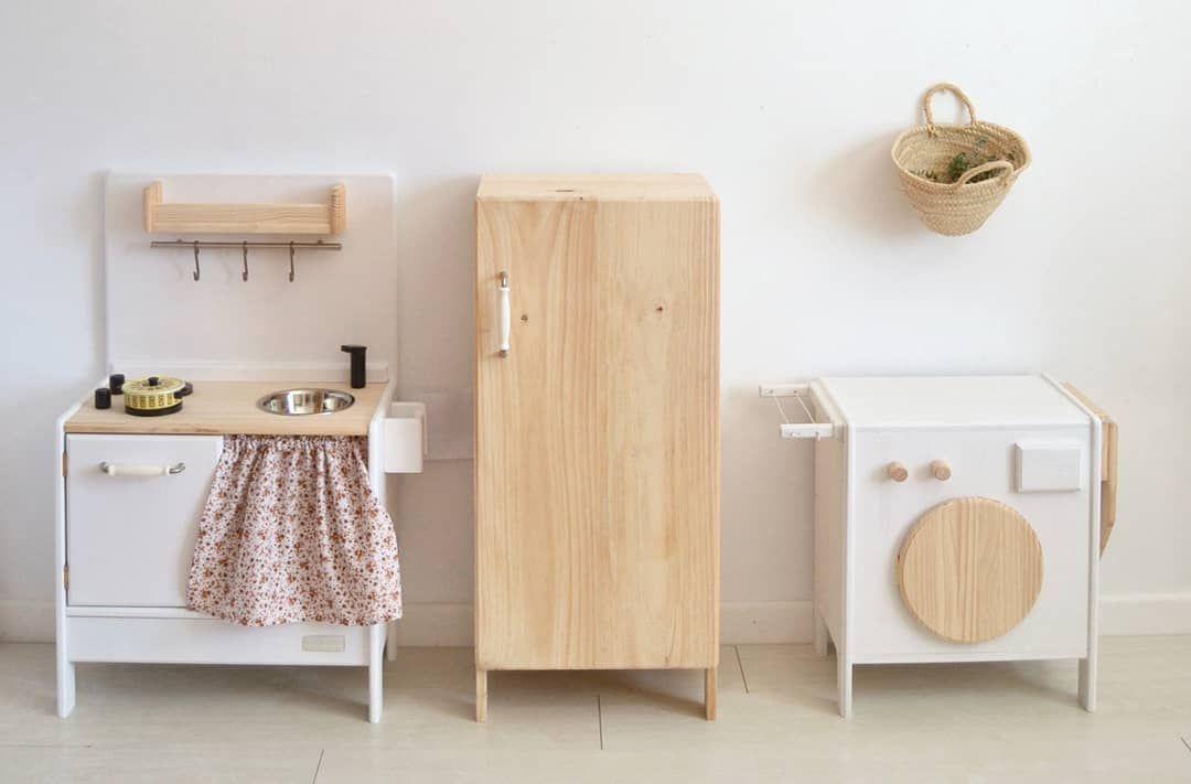 Wooden Playkitchen Washing Machine And Fridge Www Macarenabilbao