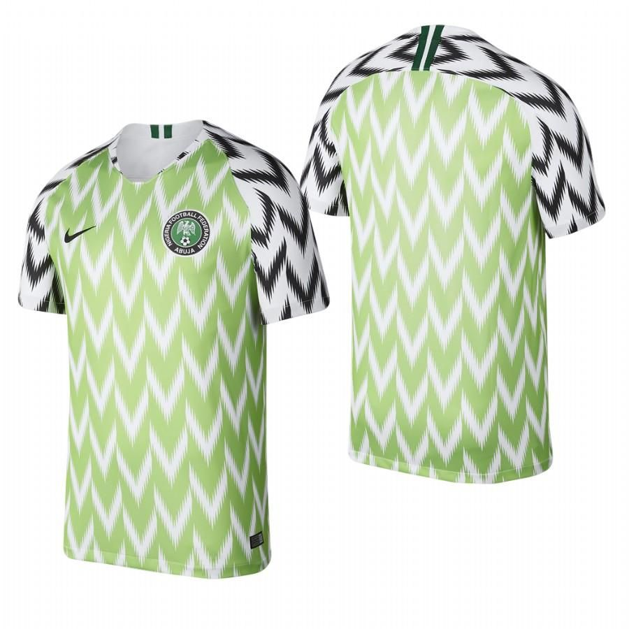 wholesale dealer 88ef1 080aa Nigeria NEW NIKE ADULT FOOTBALL SOCCER WC18 HOME JERSEY ...