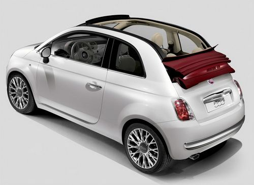 Fiat 500c Lounge With Red Retractable Roof My Baby Fiat 500