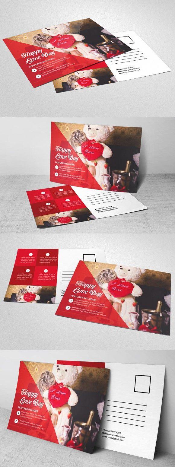 Birthday Party Invitation Postcard Creative Business Card Templates