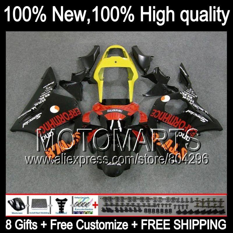 Bodys For Honda Orange Black Cbr954rr 02 03 Cbr900rr 02 03 37jk10