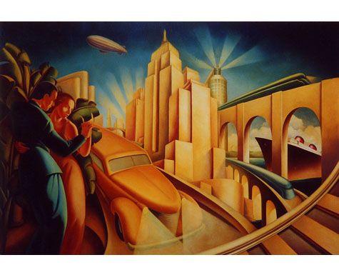 Manhattan Hotel, Tokyo A Futuristic Vision Of Manhattan As If Seen From The  1920u0027s, · Art Deco ... Design Inspirations