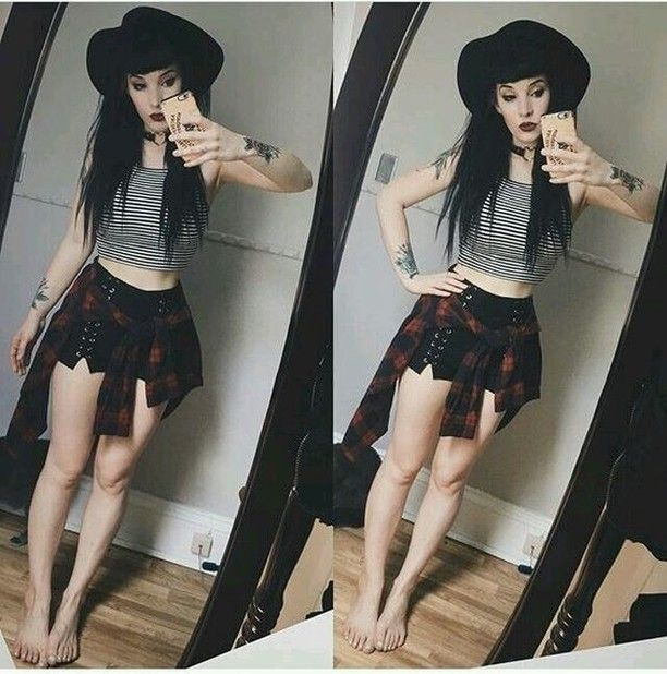 Grunge Style  Grunge OUTFIT IDEAS   Stressed, depressed but well dressed    Follow Mungy    #grungegoth