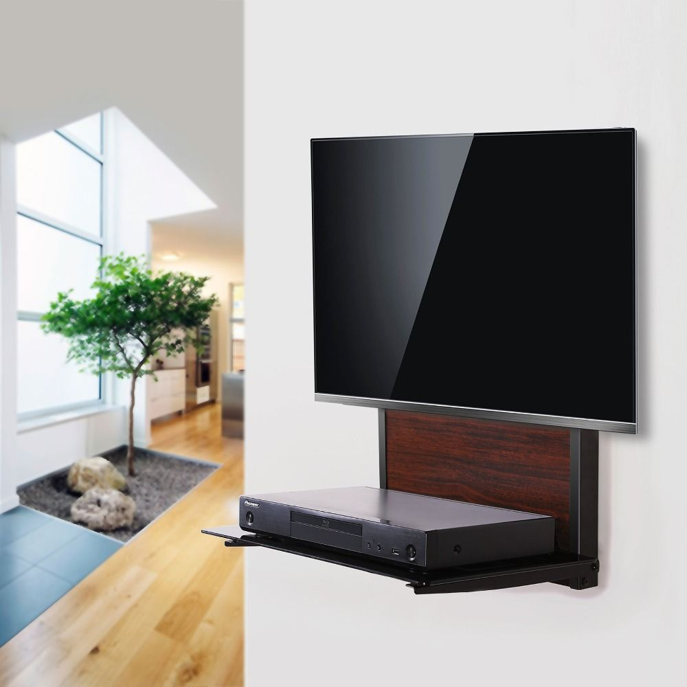 Floating Shelves For Tv Equipment Dvd Wall Mounted Player Shelf