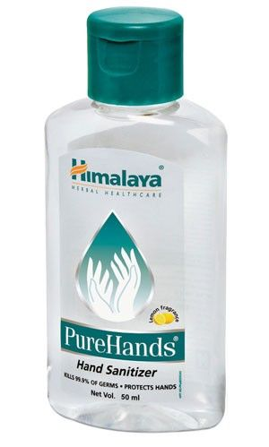 Himalaya Pure Hands Pure Products Hand Sanitizer Hand Hygiene