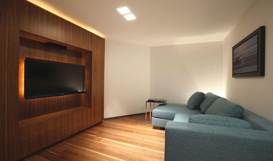 Dise o de interiores sala de tv departamento polanco for Diseno de interiores salas