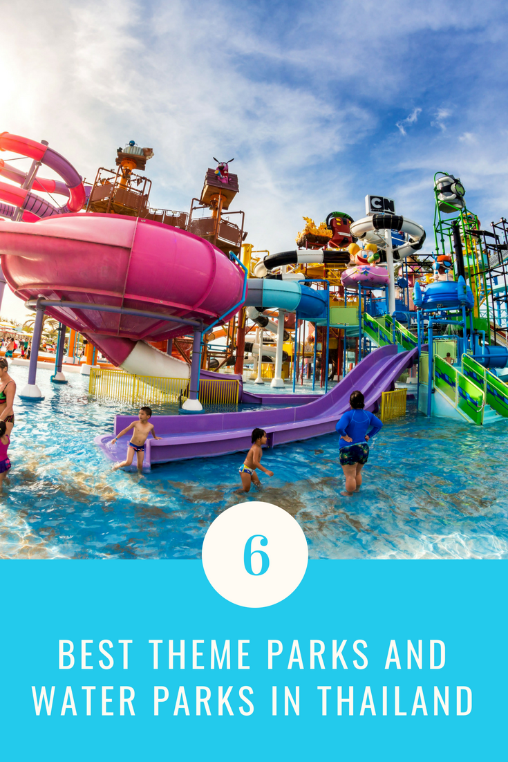 Best Theme Parks And Water Parks In Thailand Takemetour Water Theme Park Best Amusement Parks Water Park