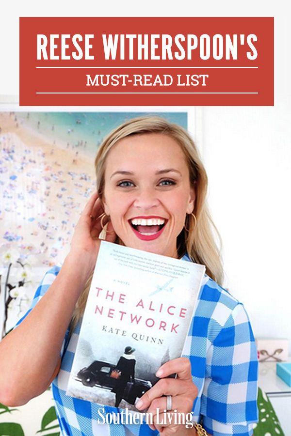 If you're on the lookout for new book recommendations, Reese Witherspoon shares some of her favorite summer reads. Check out Reese's list of must-read books.  #books #readinglist #bookrecommendation #reesewitherspoon #southernliving