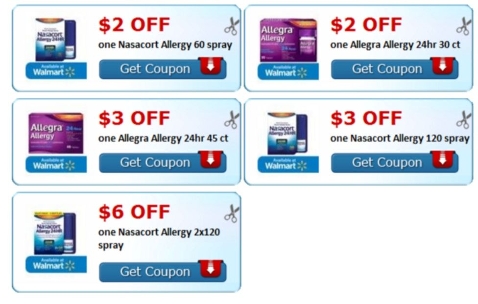 image about Allegra Printable Coupon known as Pin by way of Female Karma upon CouponKarmaFeed Printable discount codes