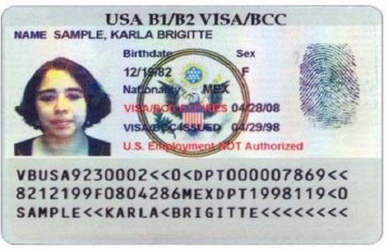 Can You Fly With A Border Crossing Card
