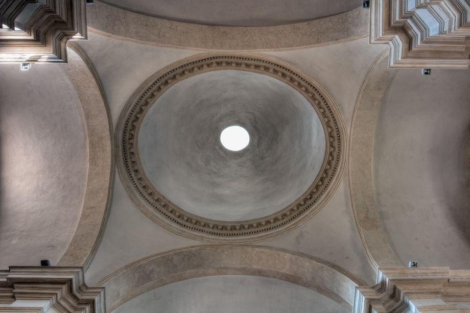 San Pietro Dome  Spoleto, Italy