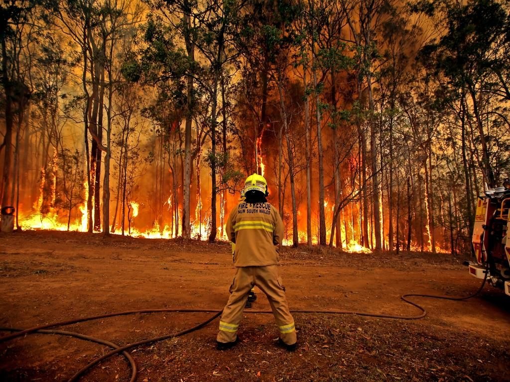 NSW bushfires Fireys chilling warning, Tuesday will see