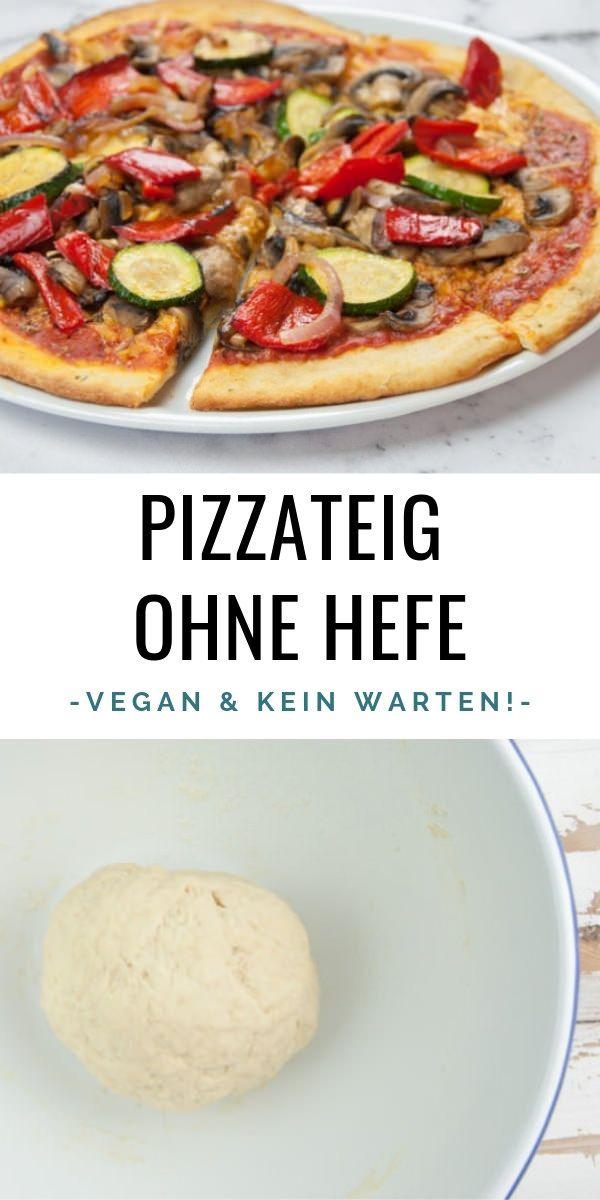 Schneller Pizzateig Ohne Hefe Vegan Vegan Pizzateig Hefefrei Pizza Elephantasticvegan De Pizza Teig Pizzateig Ohne Hefe Rezepte