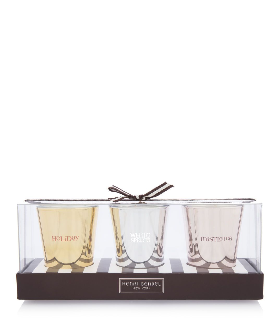 Henri Bendel Holiday Candle TrioHenri Bendel Holiday Candle Trio
