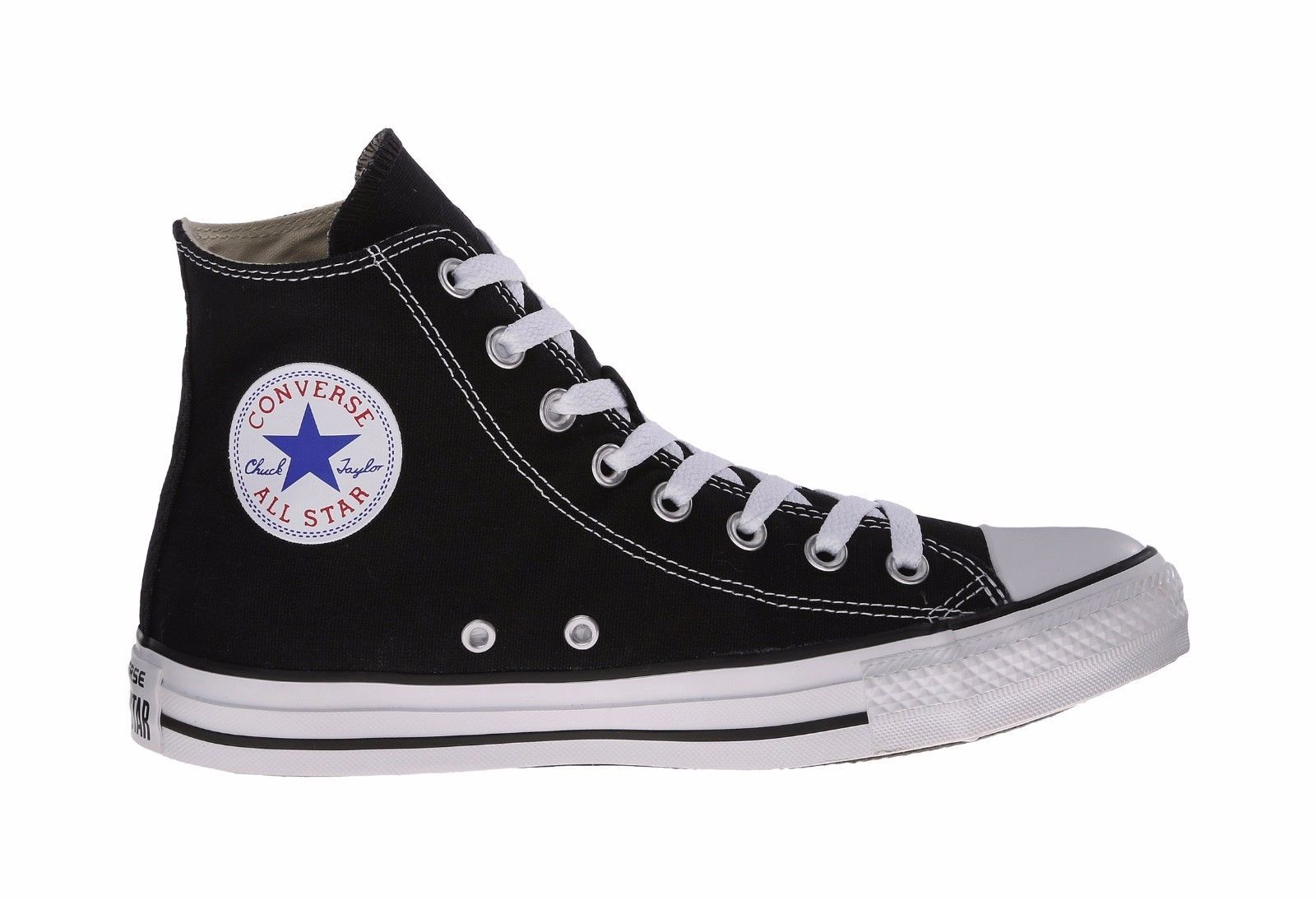 77f1d92c2e4c Converse Chuck Taylor All Star Hi Top Black White Shoes Women Sneakers M9160