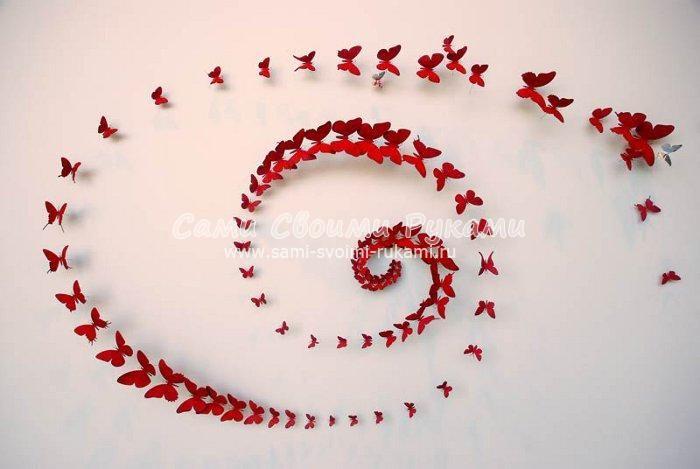 Декоративные бабочки (объемный эффект на стене), вид операции продам, состояние новое Минск
