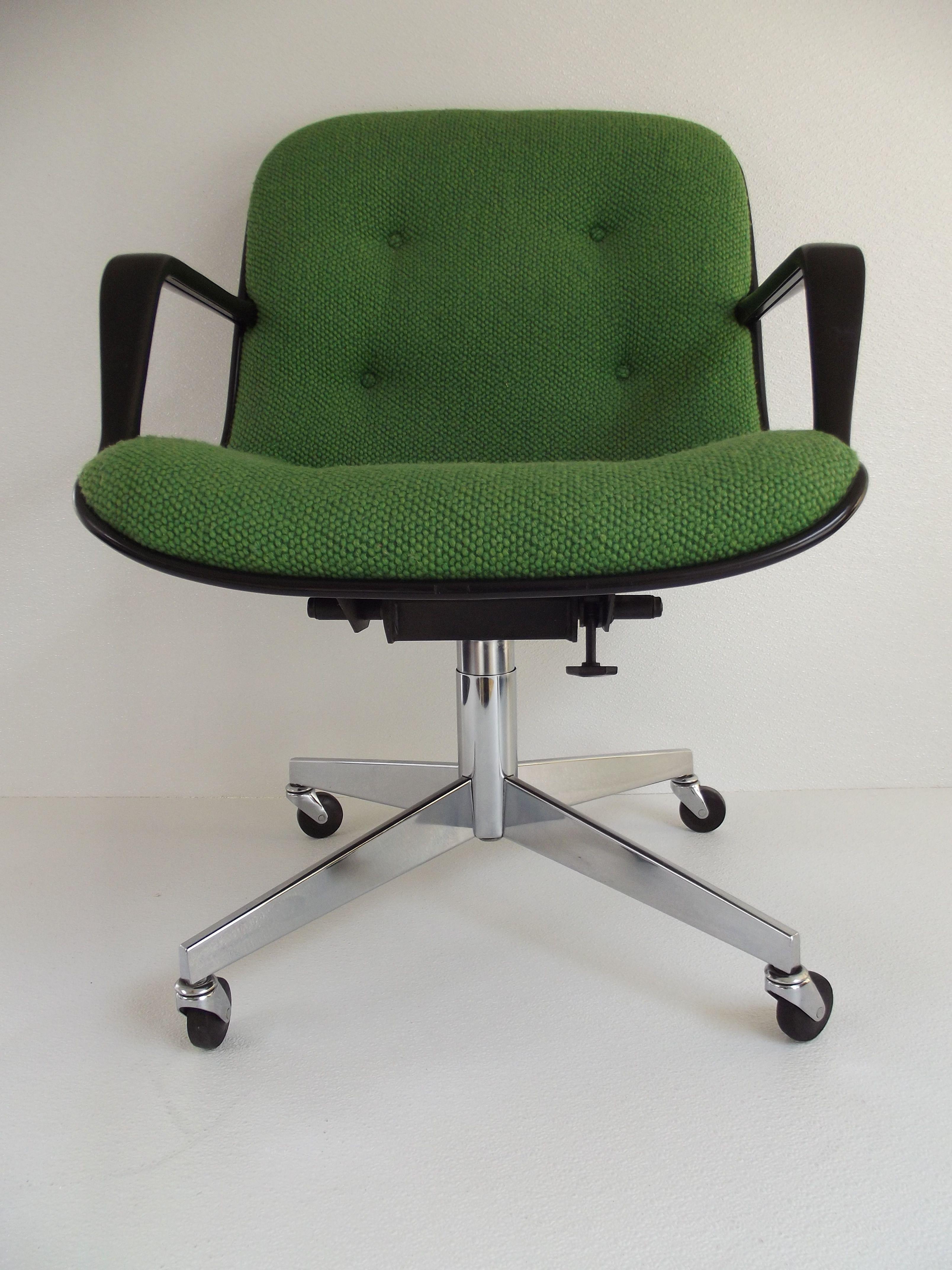 Gentil Vintage 1970u0027s Steelcase Swivel Tilt Office Chair Pollock Knoll Style