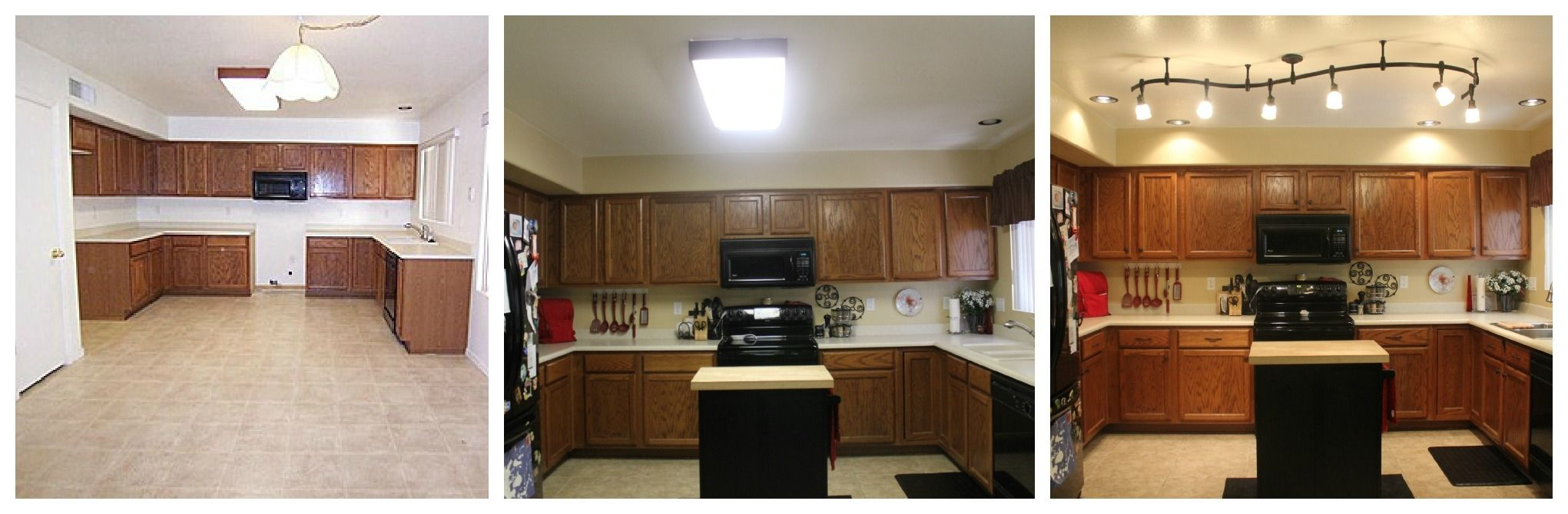 Kitchen fluorescent light alternative