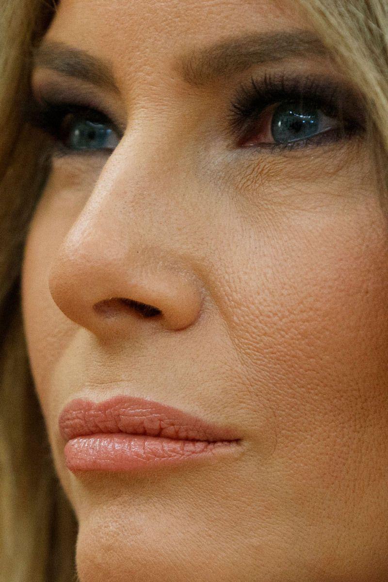Melania trump close up - 2019 year