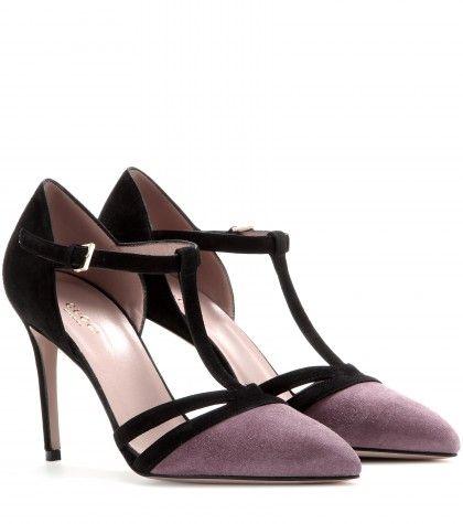 Gucci - Suede Mary-Jane pumps - mytheresa.com GmbH