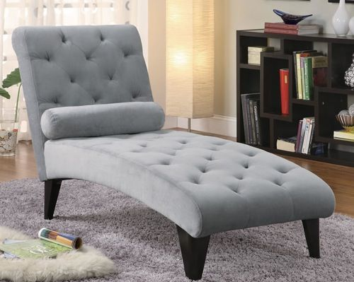 Fred Meyer Has Something Like This Tufted Grey Chaise Lounge From Decorium The Ultimate Neutral 10 Shades Of Furniture