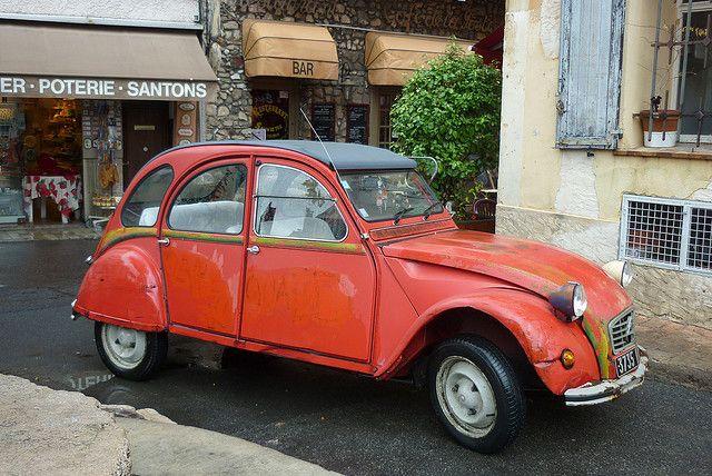 2cv In Biot Cute Cars Car Humor Citroen