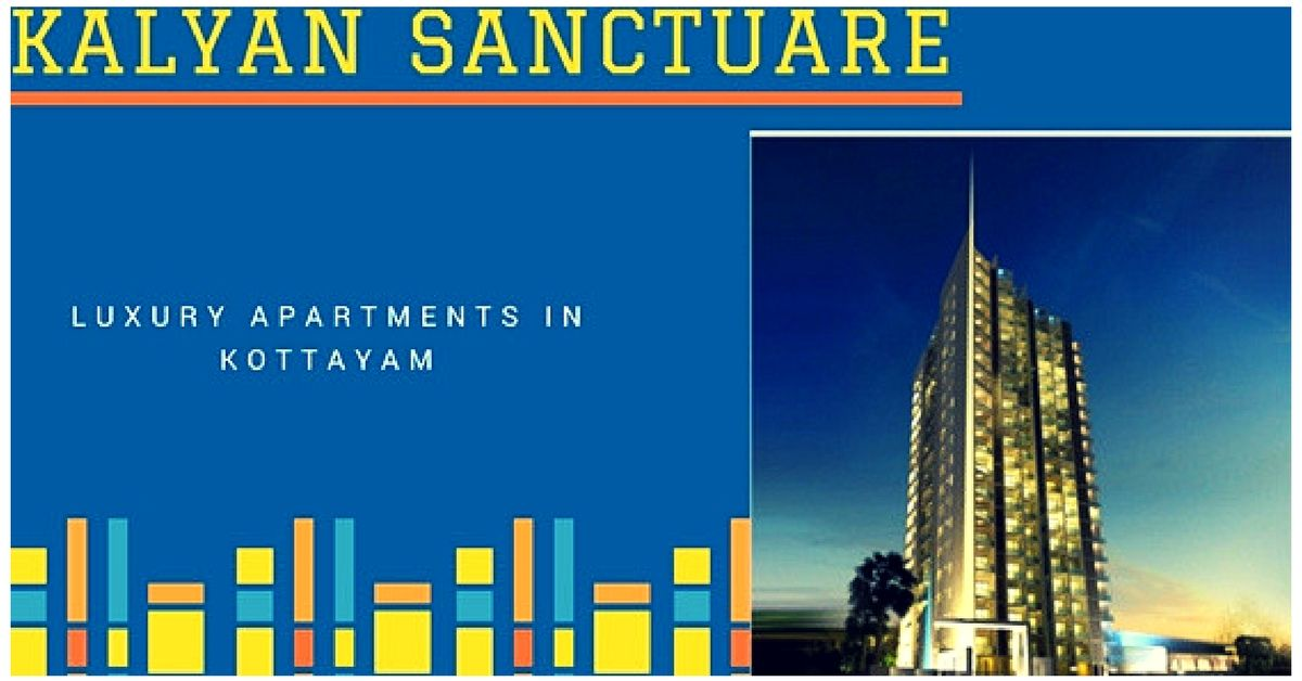 Flats in Kottayam, Apartments in Kottayam-Kalyan Builders in Kottayam Enjoy the luxury living and dynamic life with the Kalyan Sanctuare near to the Caritas hospital in Kottayam.The luxury apartments in Kottayam from Sanctuare