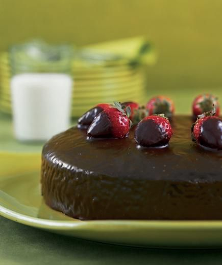 Mexican Spicy Chocolate Cake