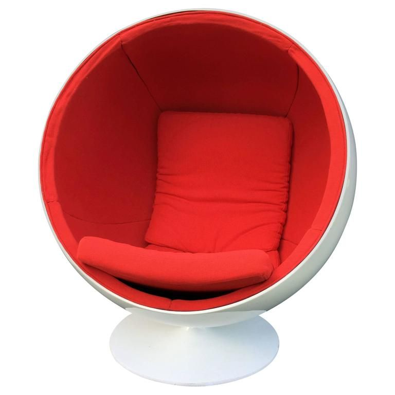 Superb Ball Or Globe Chair By Eero Aarnio For Asko | From A Unique Collection Of  Antique