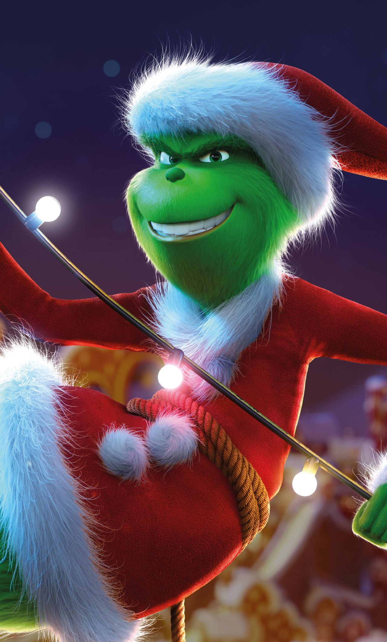 The Grinch, movie, Christmas, Animation movie, 2018