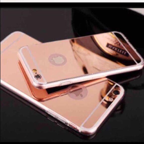 I Phone 6 Rose Gold Mirror Cases Iphone 6s Rose Gold Iphone Cases Iphone