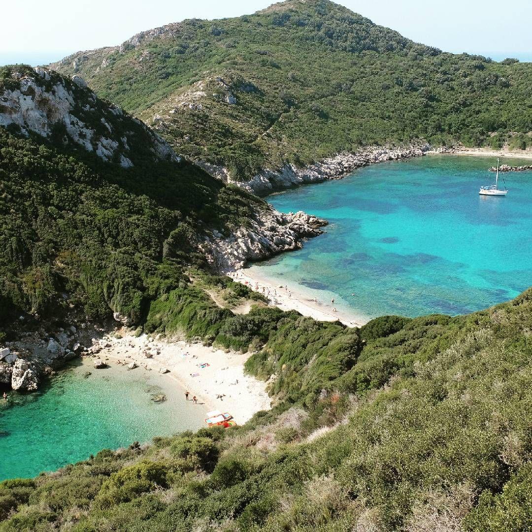 """#paradise #beach #portotimoni #afionas #corfu #greece"""