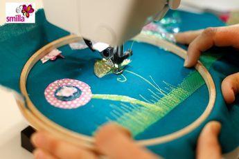 Comment fonctionne la couture à main levée?   smillablog   – naehen