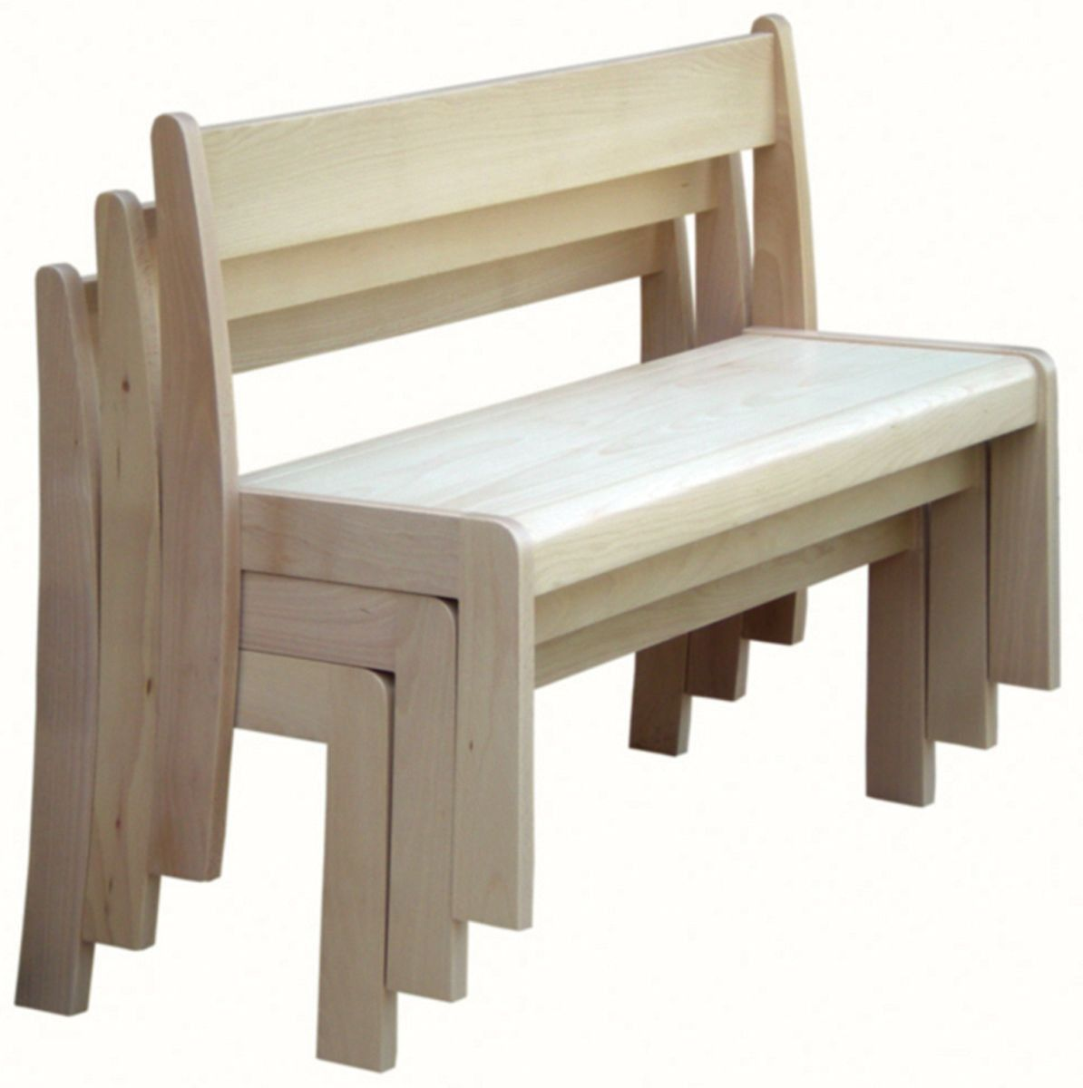 Chairs Fresh Dining Settee Bench With Extraordinary: Stackable Bench Product Description