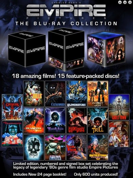 The Empire Blu Ray Collection Box Set Blu Ray Collection Fantasy Films Collection Box