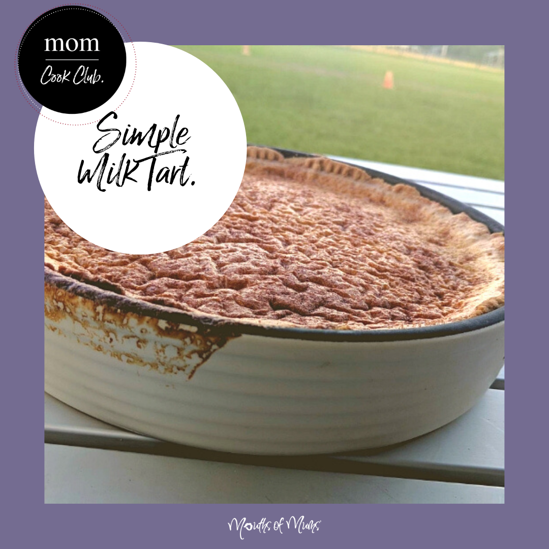 Have you ever tried a MILK TART? Perfect if you're planning a family picnic. Here's the recipe for Delicious Milk Tart from one of our MoM Cook Club members > . . #momcookclub #mouthsofmums #nomnom #easyrecipe #delish #homemade #closetohome #sogood #milktart #picnic #family #bbq #tart