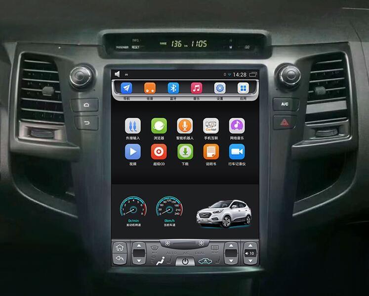 12 1 Tesla Style Android Car Multimedia Stereo Radio Audio Dvd Gps Navigation Sat Nav Head Unit For Toyota Fortuner Hilux 2004 2005 2006 2007 2008 2009 2010 20 In 2020 Gps Navigation Sat Nav Gps