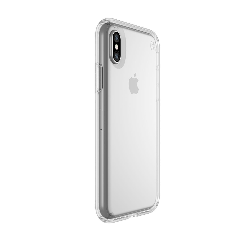 Funda Speck Presidio Clear Case iPhone X (Clear/Clear)