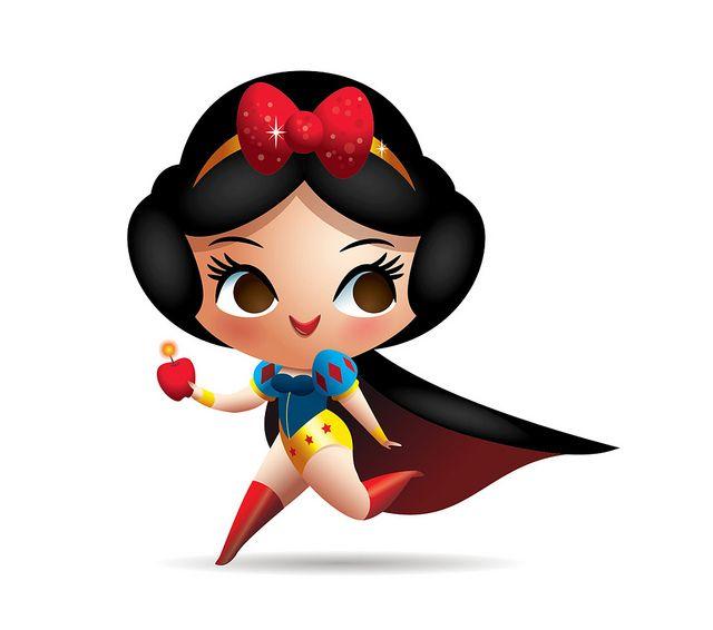 Wonderful Snow White    A Snow White - Wonder Woman mash-up.