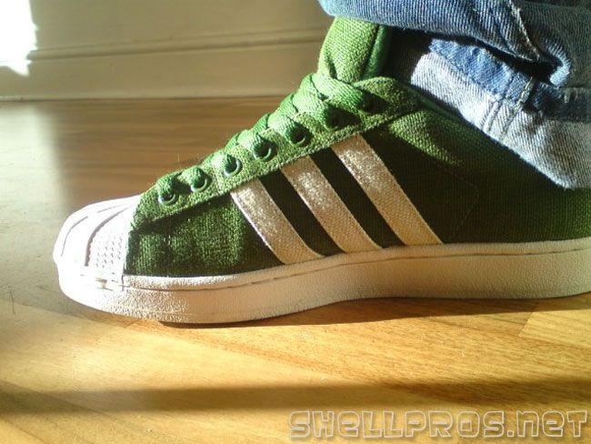adidas superstar ii hemp green