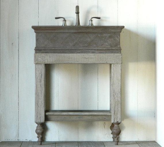 Rustic Bathroom Vanity by Atmosphyre on Etsy Home Pinterest