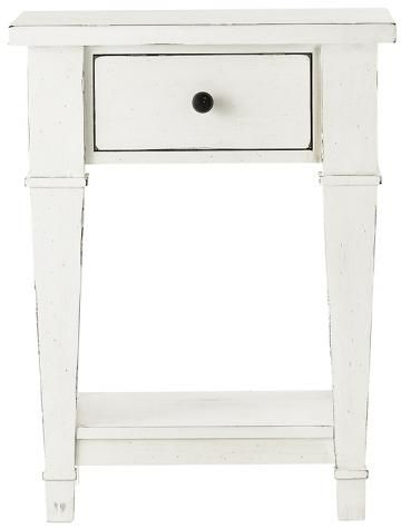 Bridgeport Nightstand 1872900460 18729460 1872900 18729 Antique White Furniture Bedroom Night Stands White Painted Furniture