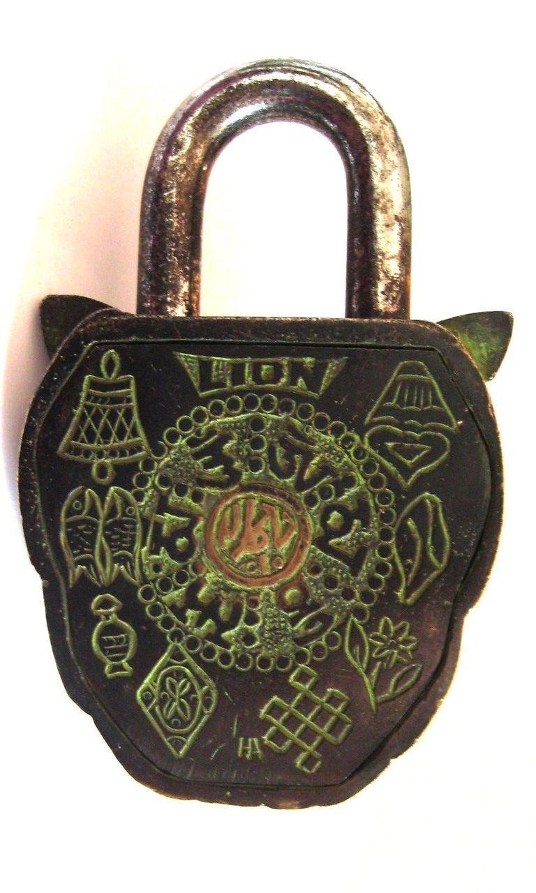 Vintage Lock Locks Under Lock And Key Lady Dior Bag