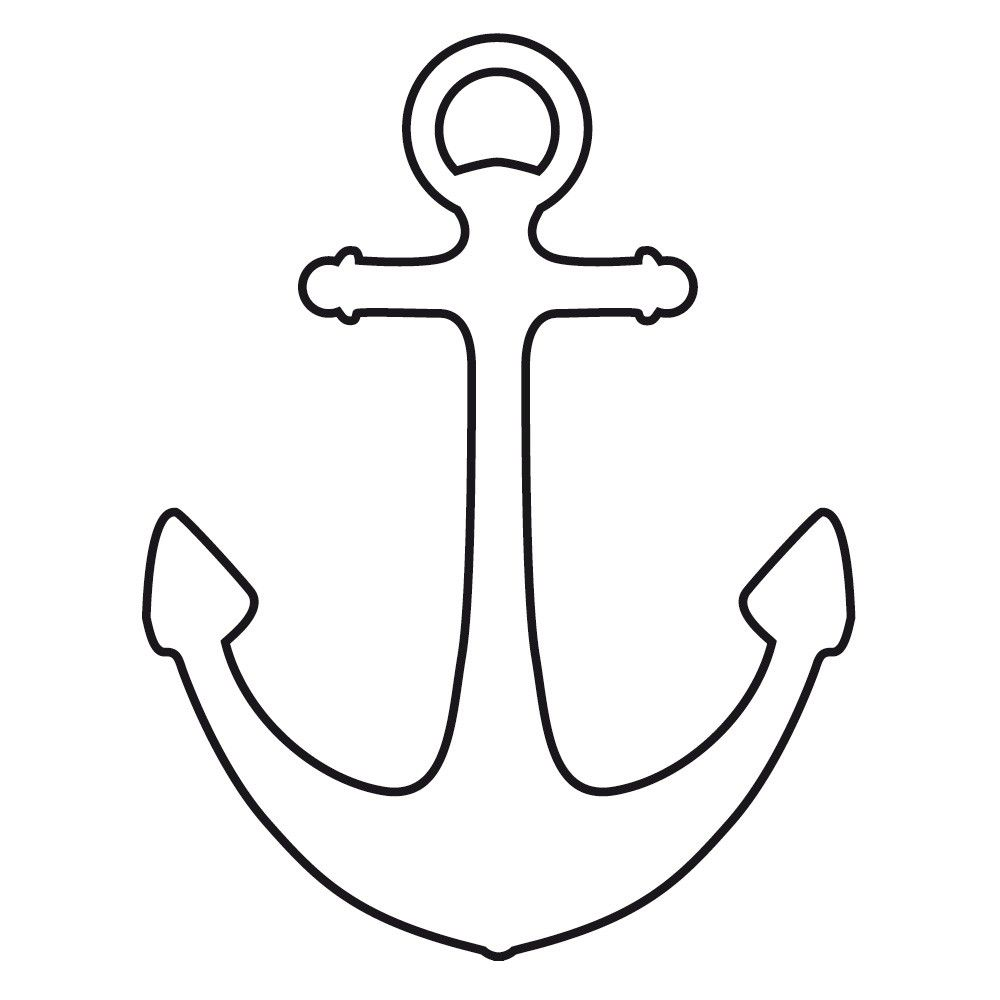 Anchor Pattern Use The Printable Outline 14