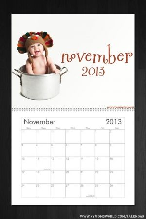 november 2013 cute baby calendar ny moms world